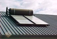 Installing a Solar Water Heater Image