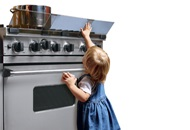 Plumbing Tips to Baby Proof Your Kitchen Image