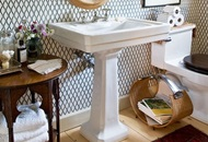 Install a Pedestal Sink in London Image